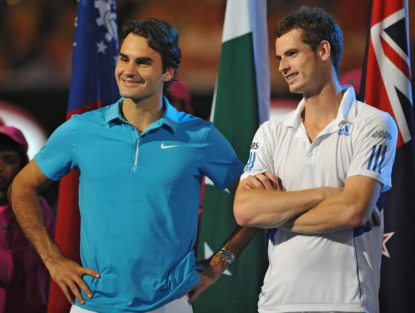Roger y Andy Murray 021373385