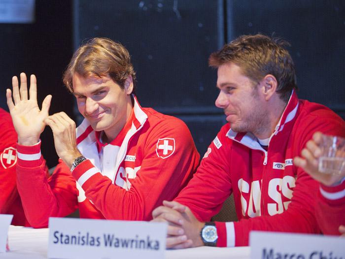 Play off grupo mundial: Holanda Vs Suiza del 14 al 16 de Septiembre de 2012. 128768