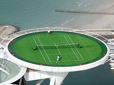 ATP 500, Dubai del 27 de Febrero al 3 de Marzo de 2012. Burj-al-arab-cancha-tennis-