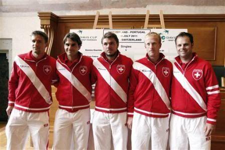 Eliminatoria del grupo Europa-África grupo I, Suiza Vs Portugal del 8 sl 10 de Julio L5310412