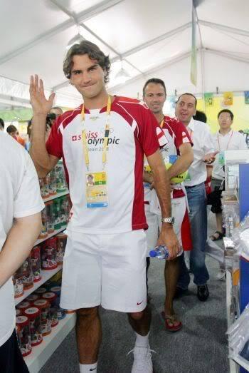 Roger Federer y los JJOO 021632930