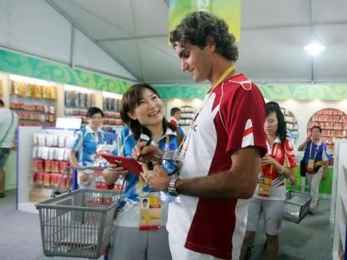 Roger Federer y los JJOO 021632938