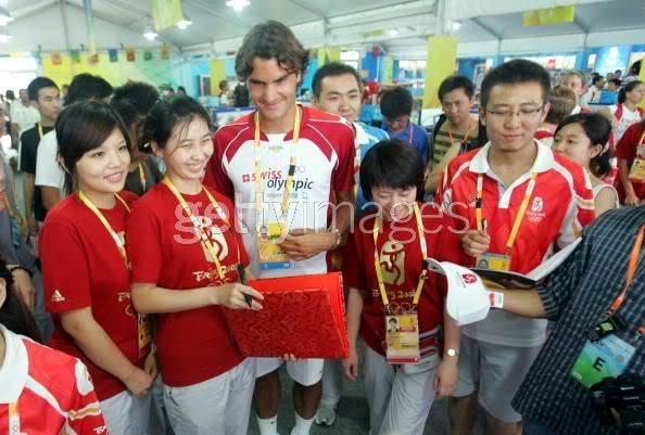 Roger Federer y los JJOO 021632948