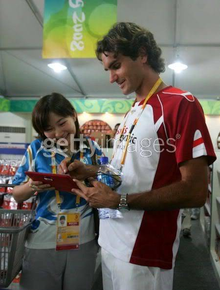 Roger Federer y los JJOO 021632952