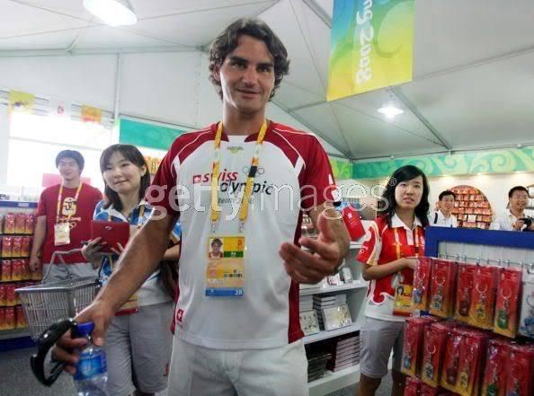 Roger Federer y los JJOO 021632954