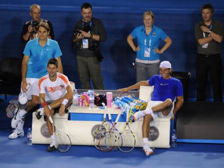 Fotos del partido Hit for Haiti. 36110971-tennis-australian-open-201