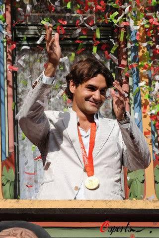 Roger Federer y los JJOO Olympics2008-141