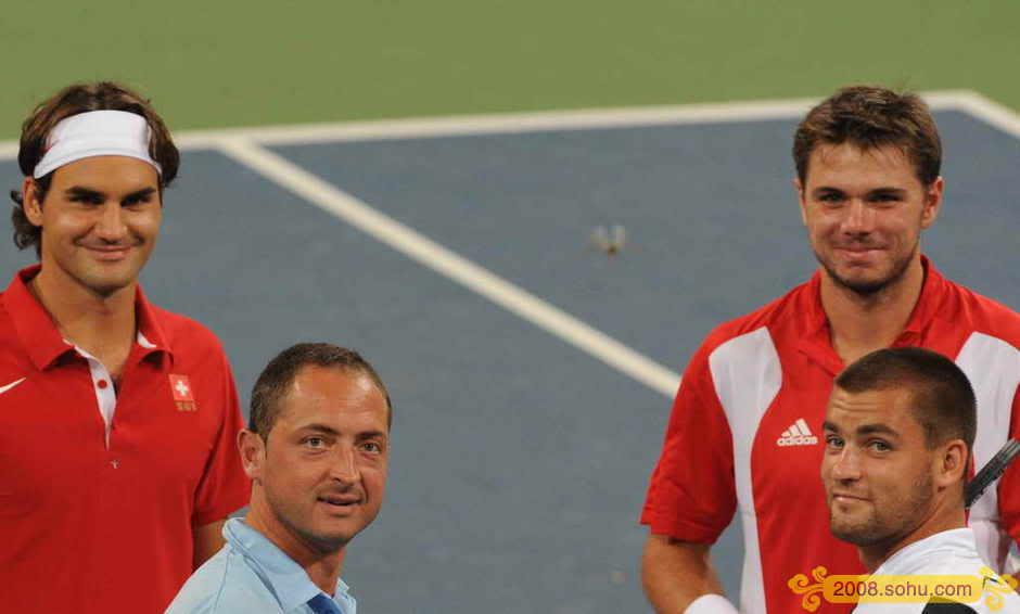 Roger Federer y los JJOO Olympics2008-6