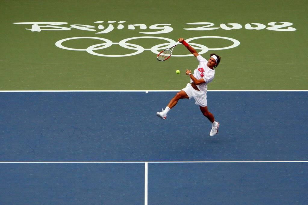 Roger Federer y los JJOO Olympics2008-65