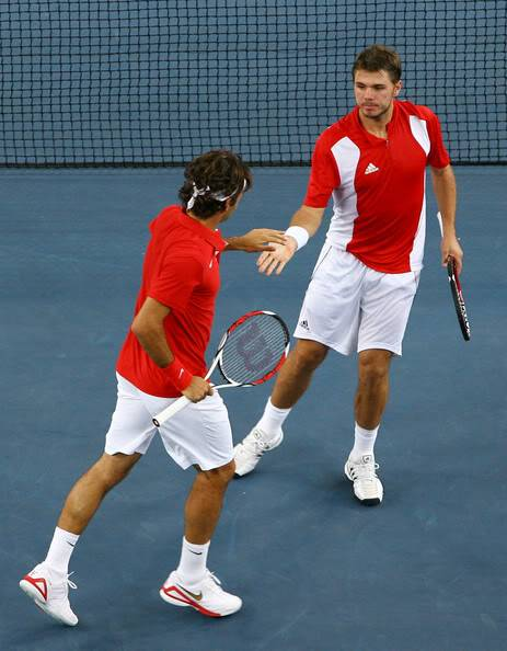Stanislas Wawrinka y Roger Federer - Página 2 RogeryStan16