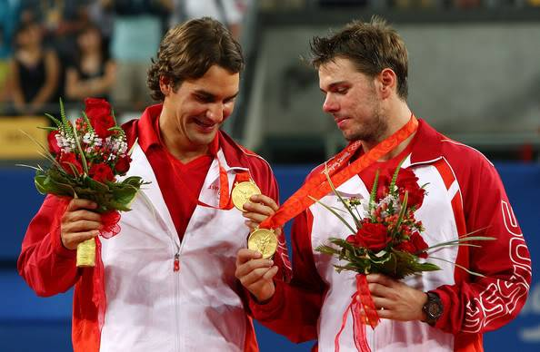 Stanislas Wawrinka y Roger Federer - Página 2 RogeryStan18