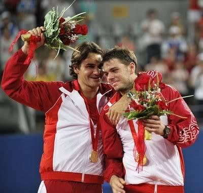Stanislas Wawrinka y Roger Federer RogeryStan9-1