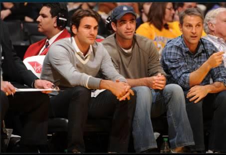 Roger divertido - Página 6 Federer-sampras-lakers