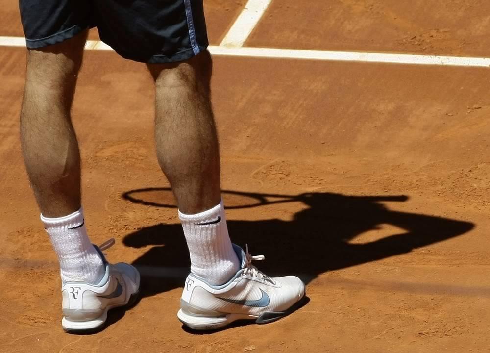 Los pies de Roger. Madrid090515qfmisc08