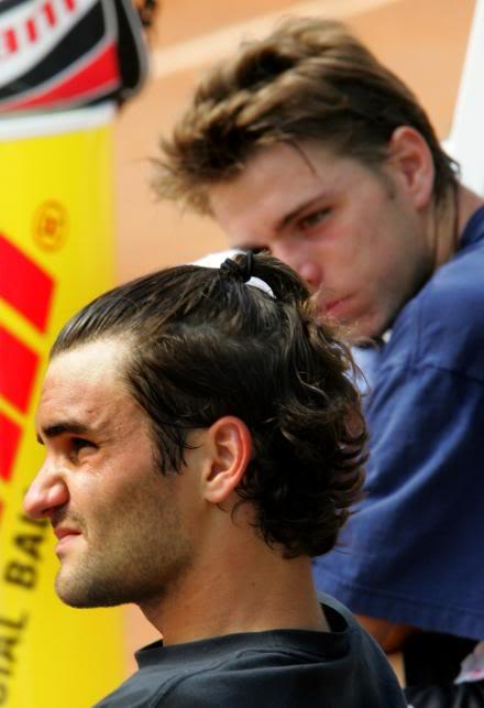 Stanislas Wawrinka y Roger Federer RogeryStan7