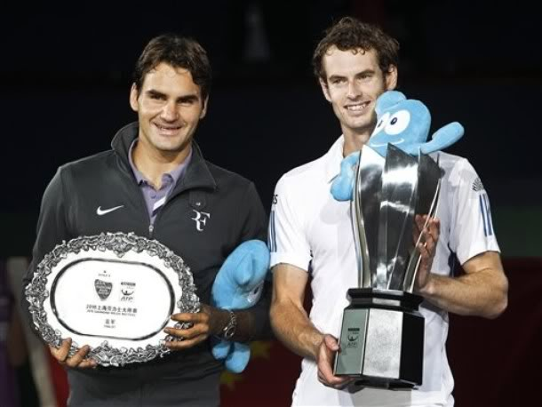 Roger y Andy Murray Dl-1220