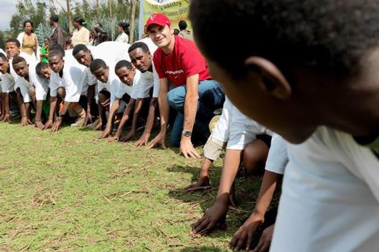 Roger Solidario.. con un gran corazon!!! Ethiopia100212run02