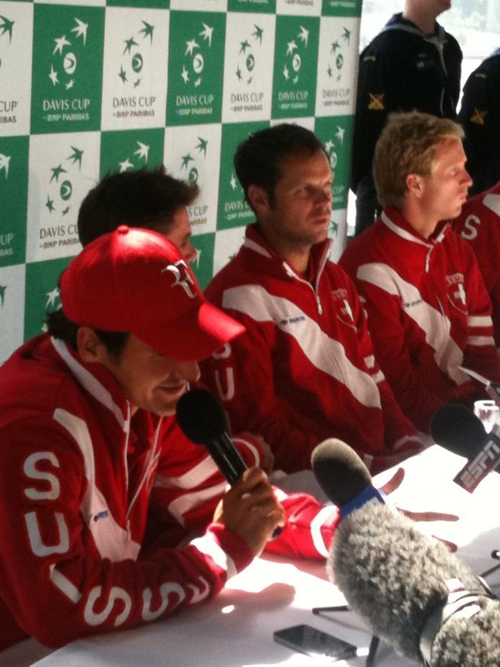 Swiss Davis Cup Team!! 299606_249657705077988_217916791585413_784027_91024216_n