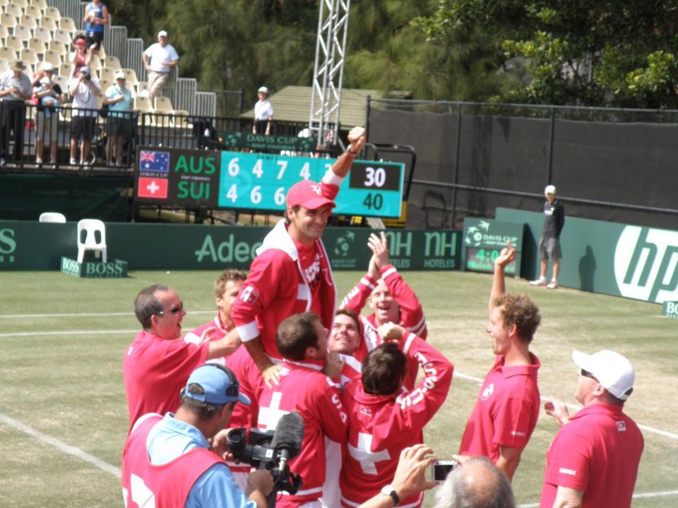 Swiss Davis Cup Team!! 303960_251512294892529_217916791585413_791595_965624387_n