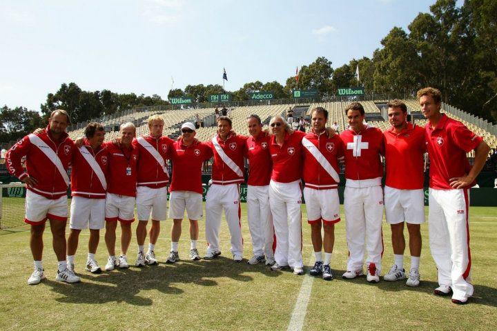 Swiss Davis Cup Team!! 312248_251467018230390_217916791585413_791266_1376839264_n