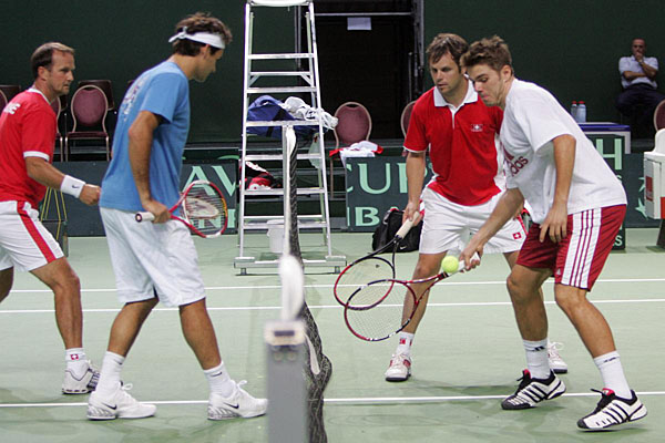 Swiss Davis Cup Team!! DavisCup2006-11