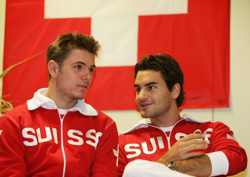 Stanislas Wawrinka y Roger Federer - Página 4 DavisCup2006-45