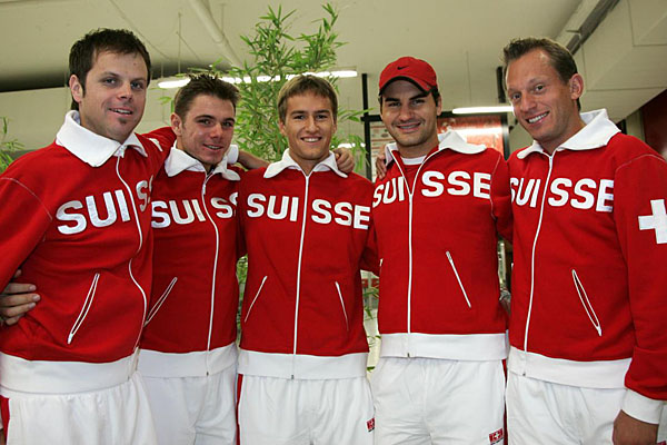 Swiss Davis Cup Team!! DavisCup2006-47