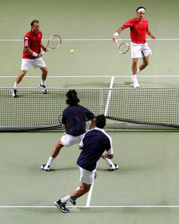 Roger e Yves Allegro. DavisCup2006-98