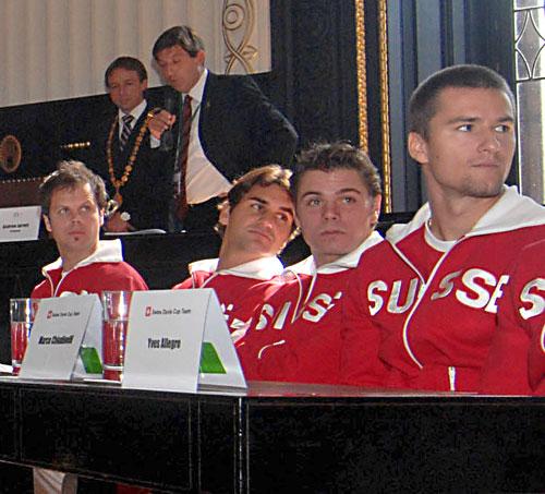 Swiss Davis Cup Team!! DavisCup2007-45