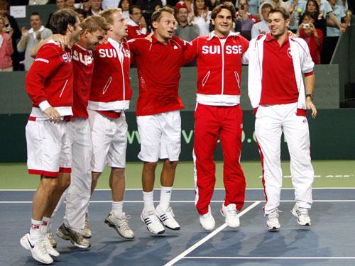 Swiss Davis Cup Team!! DavisCup2008-189