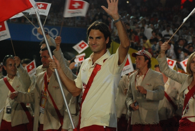 Roger Federer y los JJOO Olympics2008-384