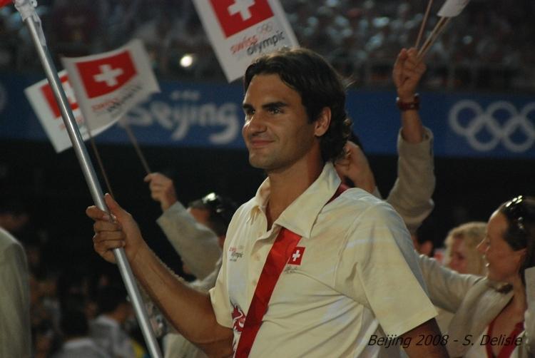 Roger Federer y los JJOO Olympics2008-385