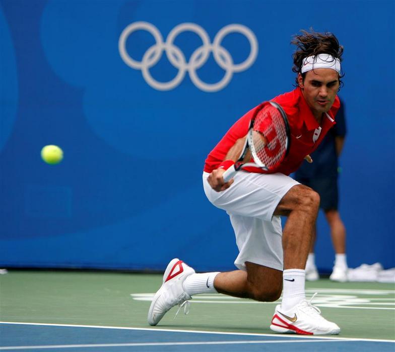 Roger Federer y los JJOO Olympics2008-487