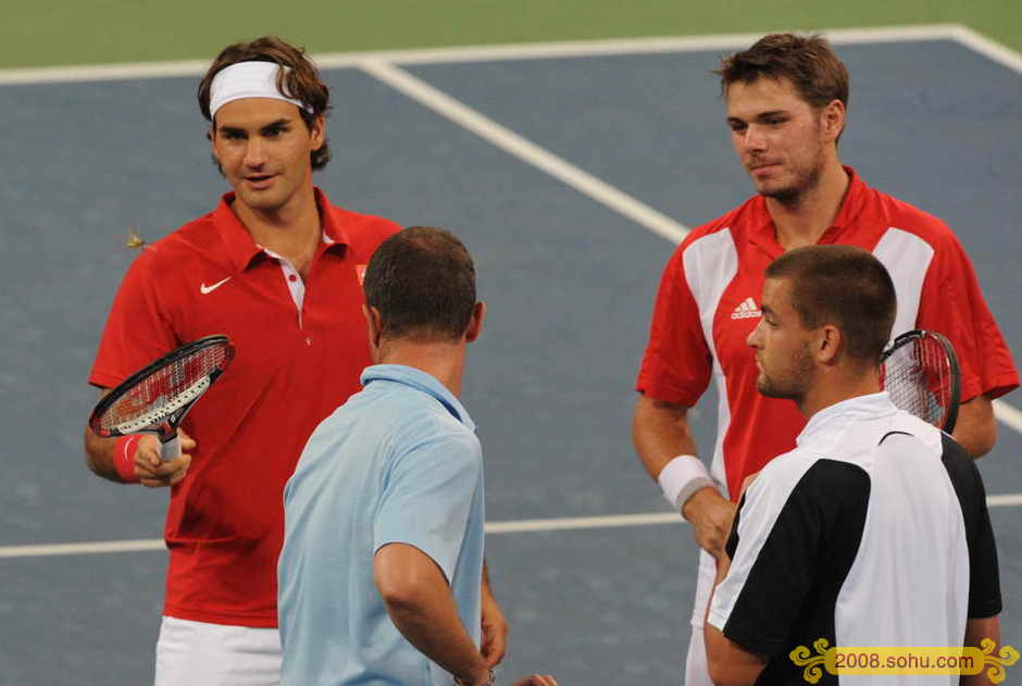 Roger Federer y los JJOO Olympics2008-552