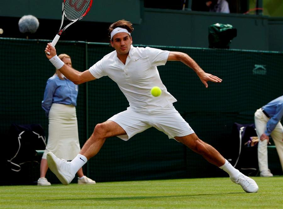 El paquete de Roger Wimbledon2008-386
