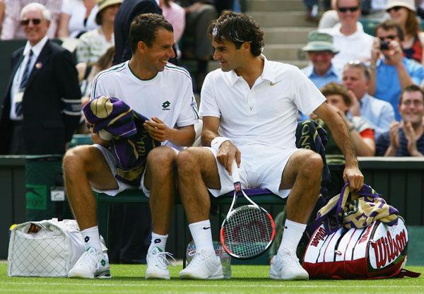 El paquete de Roger Wimbledon2008-80