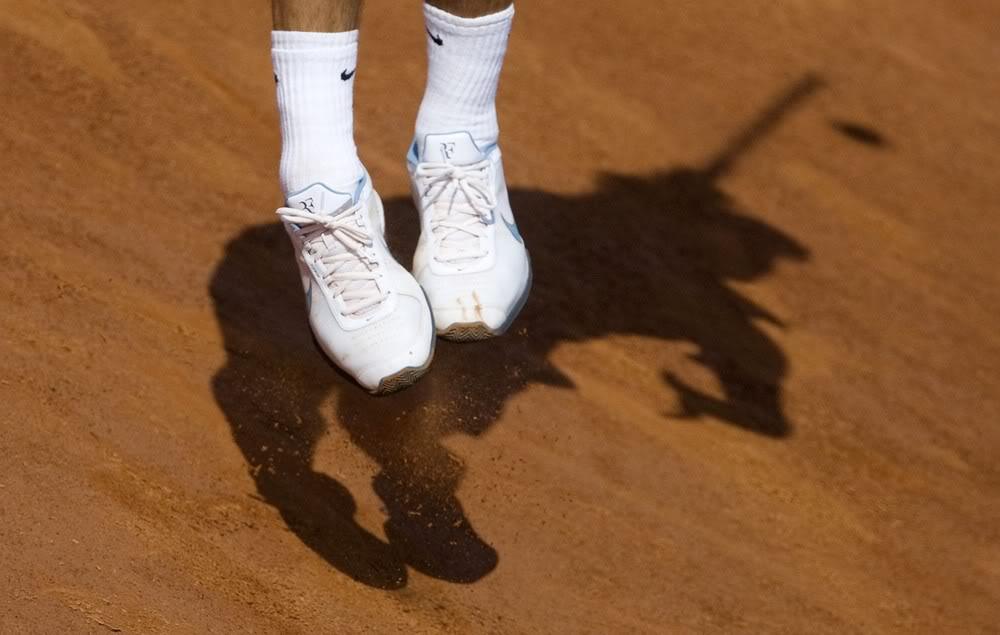 Los pies de Roger. Rome090501qfmisc01