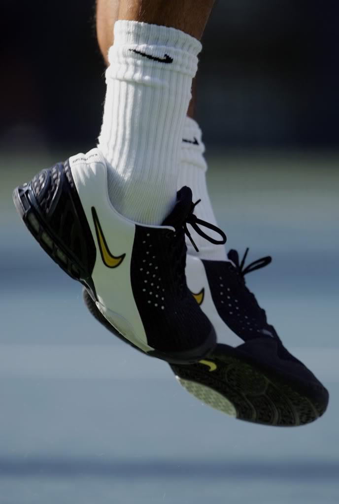 Los pies de Roger. Usopen050906r16asv01