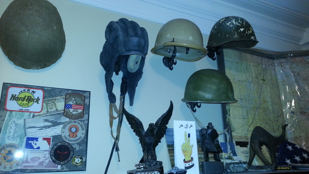 How to display hats and helmets 20150309_233054