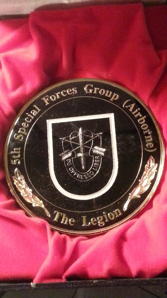 More of my Challenge Coins - Man Cave Display 20150618_205938_1