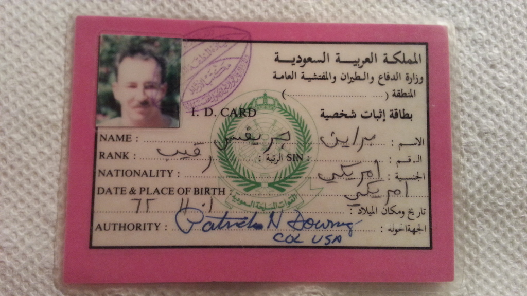 Iraqi Orders, and I.D. Cards at military show 20151013_215811_2