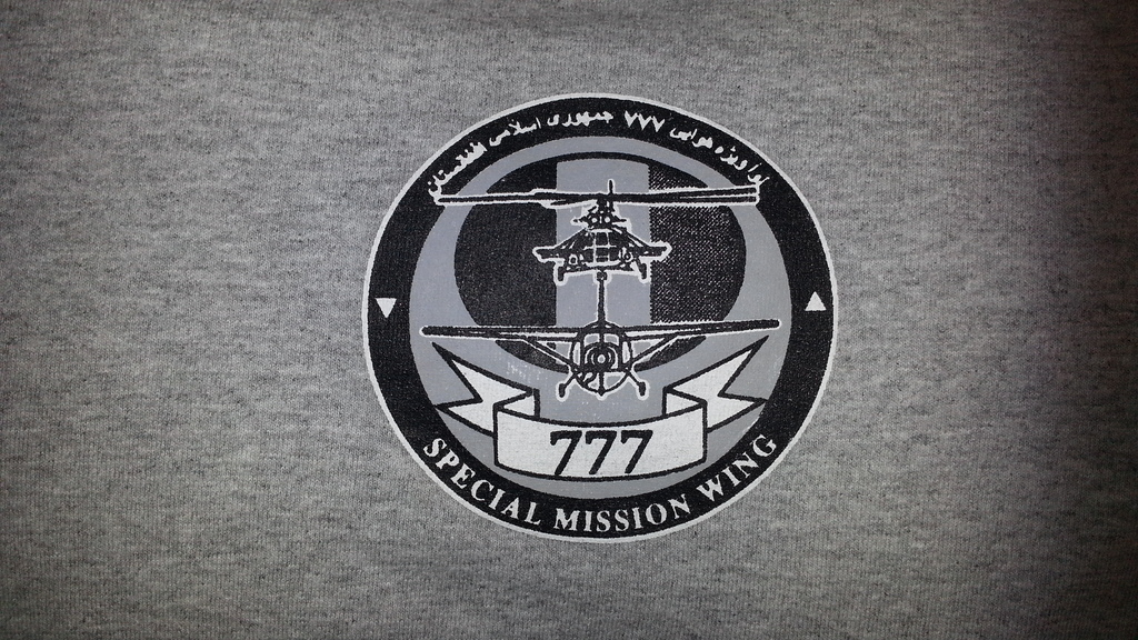 Afghan Special Mission Wing (777) Shirt 20160320_202530