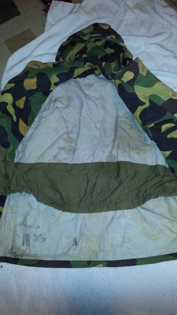 Captured ISIS Field kit and Jacket 20160422_220804