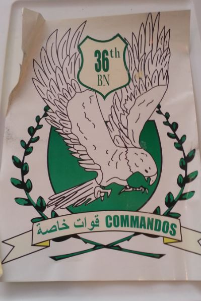 Special Operations PSYOP Products IraqiCommandoPlacard