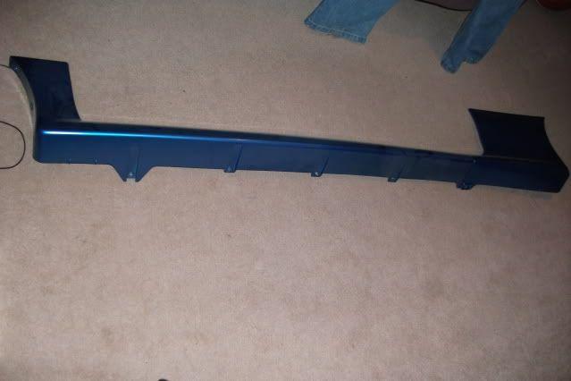 Suzuki Swift GTi skirts in BLUE DSCF0470