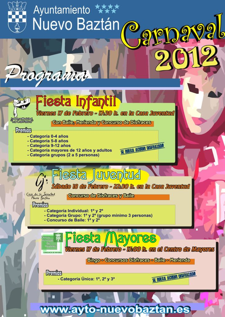 Nuevo Baztán: Carnaval 2012 Cartel_carnaval2012