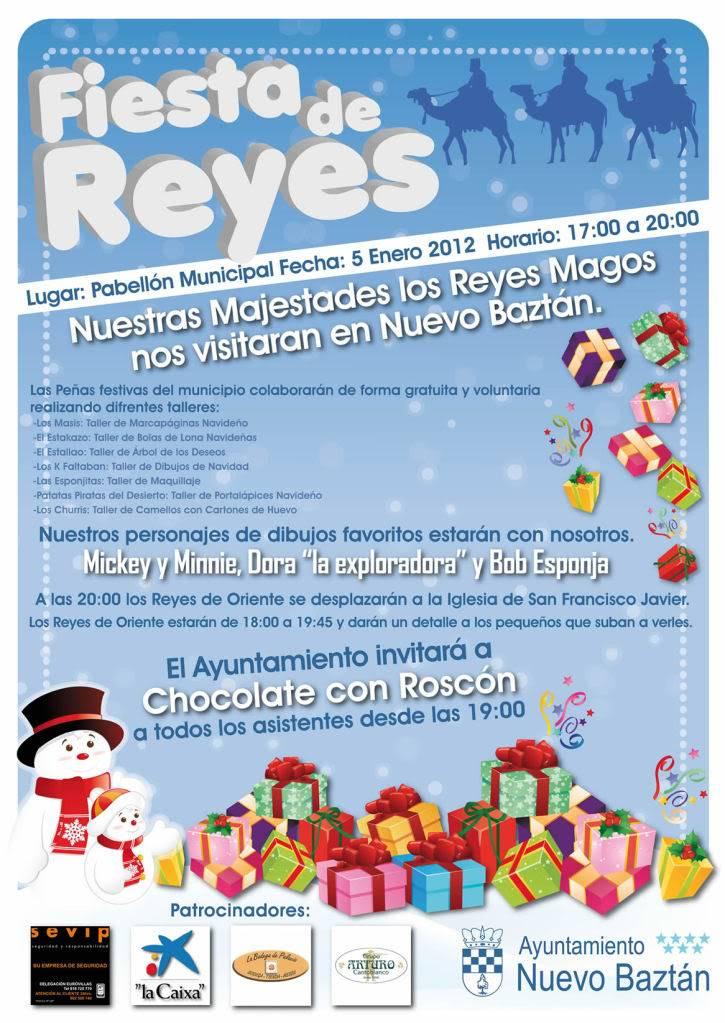 Nuevo Baztán: Fiesta de Reyes Cartel_reyes2012
