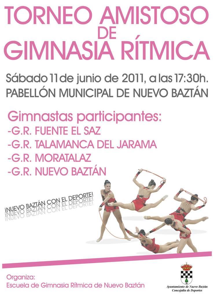 Nuevo Baztán: Torneo amistoso de Gimnasia Rítmica Cartel_torneo_gimnasia_ritmica_junio2011