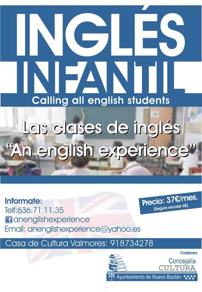 Nuevo Baztán: Más actividades 2011/2012 Clases_ingles_infantil_2011