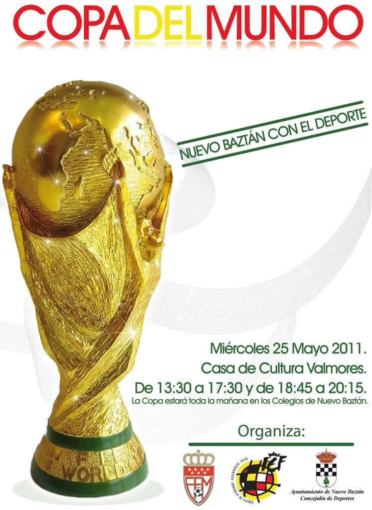 Nuevo Baztán: La Copa del Mundo de Fútbol en el municipio Lacopadelmundo